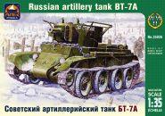 Советский артиллерийский лёгкий танк БТ-7А с 76,2-мм пушкой КТ-28