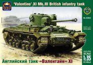 Английский танк «Валентайн» XI