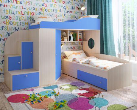 Кровать чердак «Кадет 2»