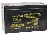 Аккумулятор General Security GSL120-12