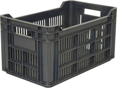 Ящик пластиковый 500х300х264 перфорированный