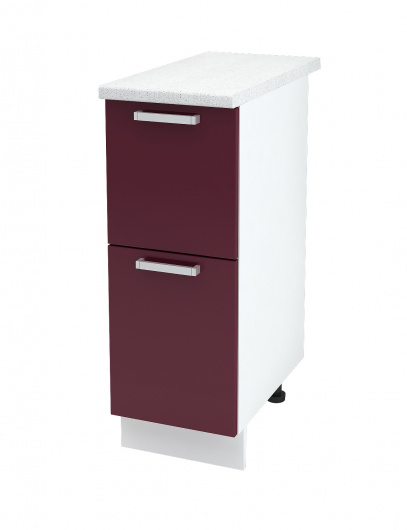 Шкаф нижний с 2 ящиками Джулия ШН2Я 300
