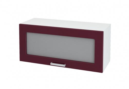 Шкаф горизонтальный со стеклом Джулия ШВГС 800