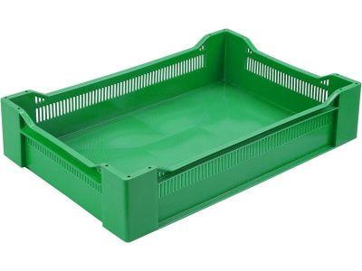 Ящик пластиковый 600х400х135 сплошное дно