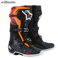 Ботинки Alpinestars Tech 10, Чёрно-оранжевые