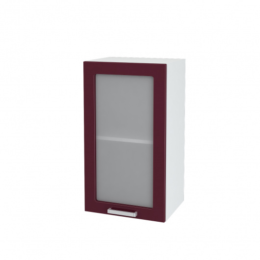 Шкаф верхний со стеклом Джулия ШВС 400