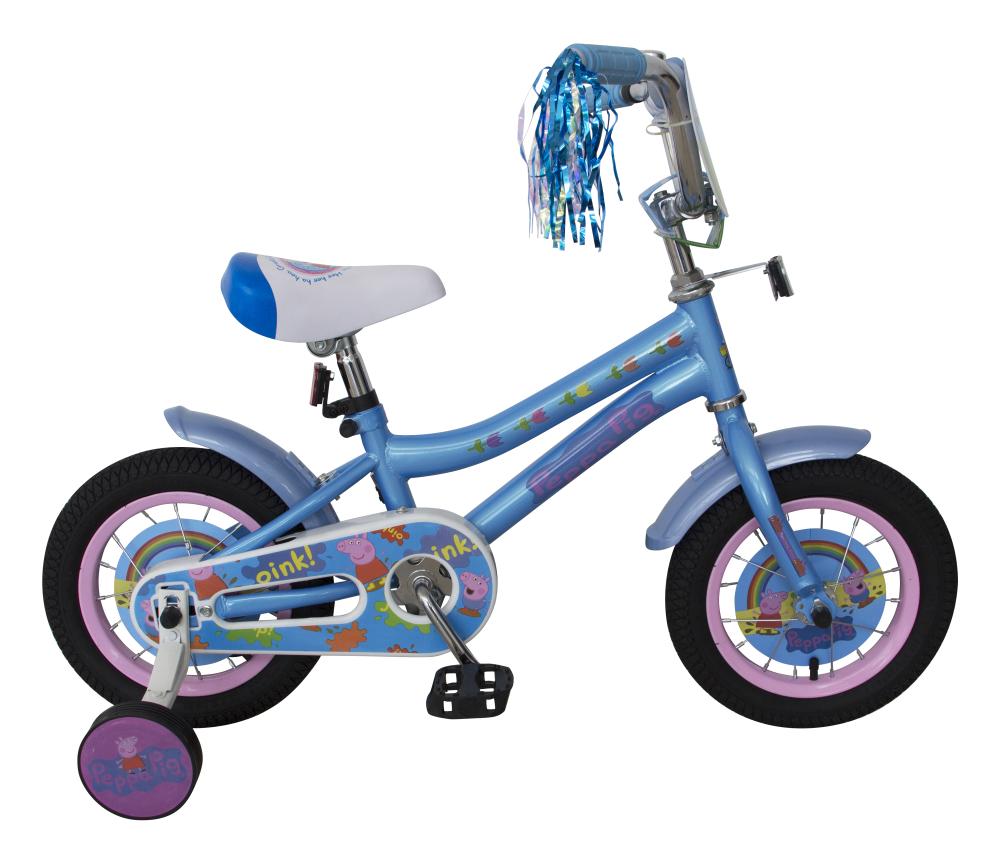 Детский велосипед, Peppa Pig, колеса 12
