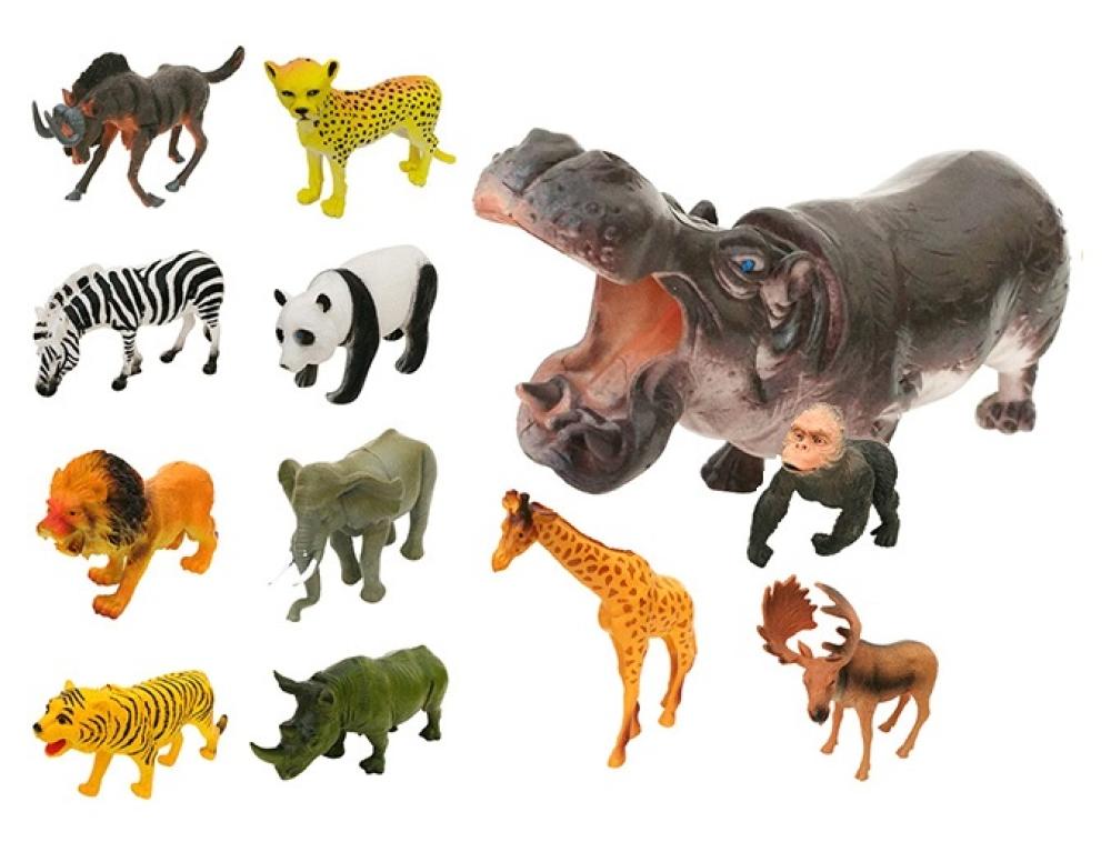 1toy Мелочь, а приятно дикое животное в дисплее(25х22х12см) 12 шт - 16 см в асс