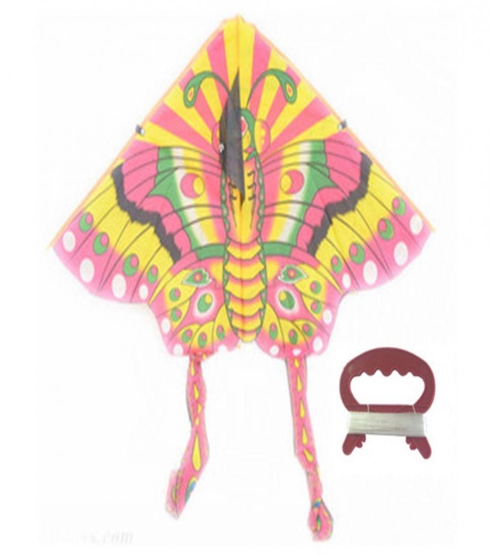 воздушный змей Бабочка катушка (леер 30м) 100х50см