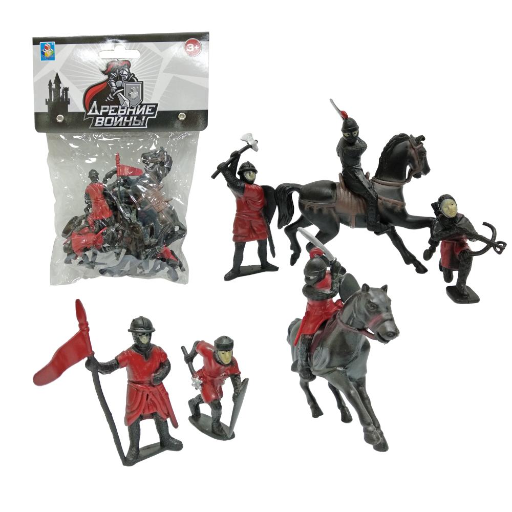 1toy Древние войны: набор рыцарей, 8 шт, пакет с хед
