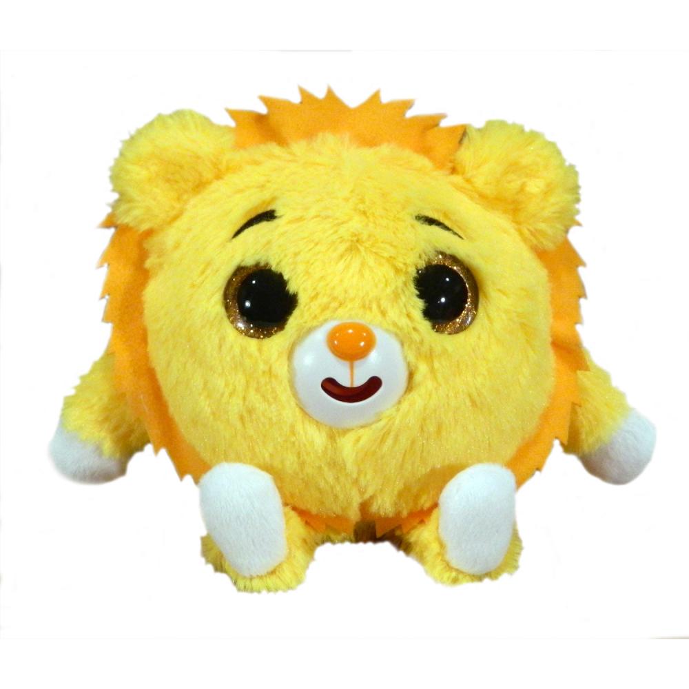 Мягкая игрушка Дразнюка Zooкa 1 TOY Львёнок (звук), 13 см