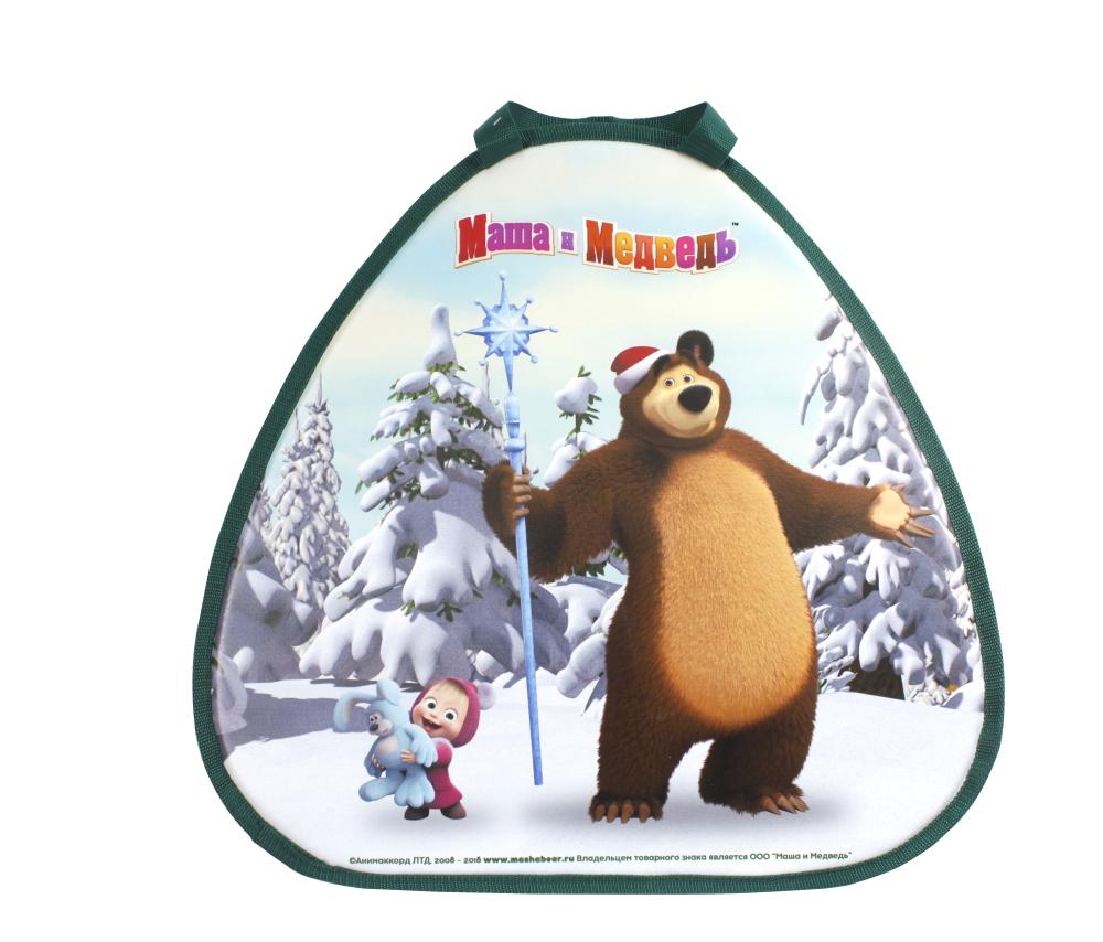 1toy Маша и Медведь ледянка 52х50см, треугольная
