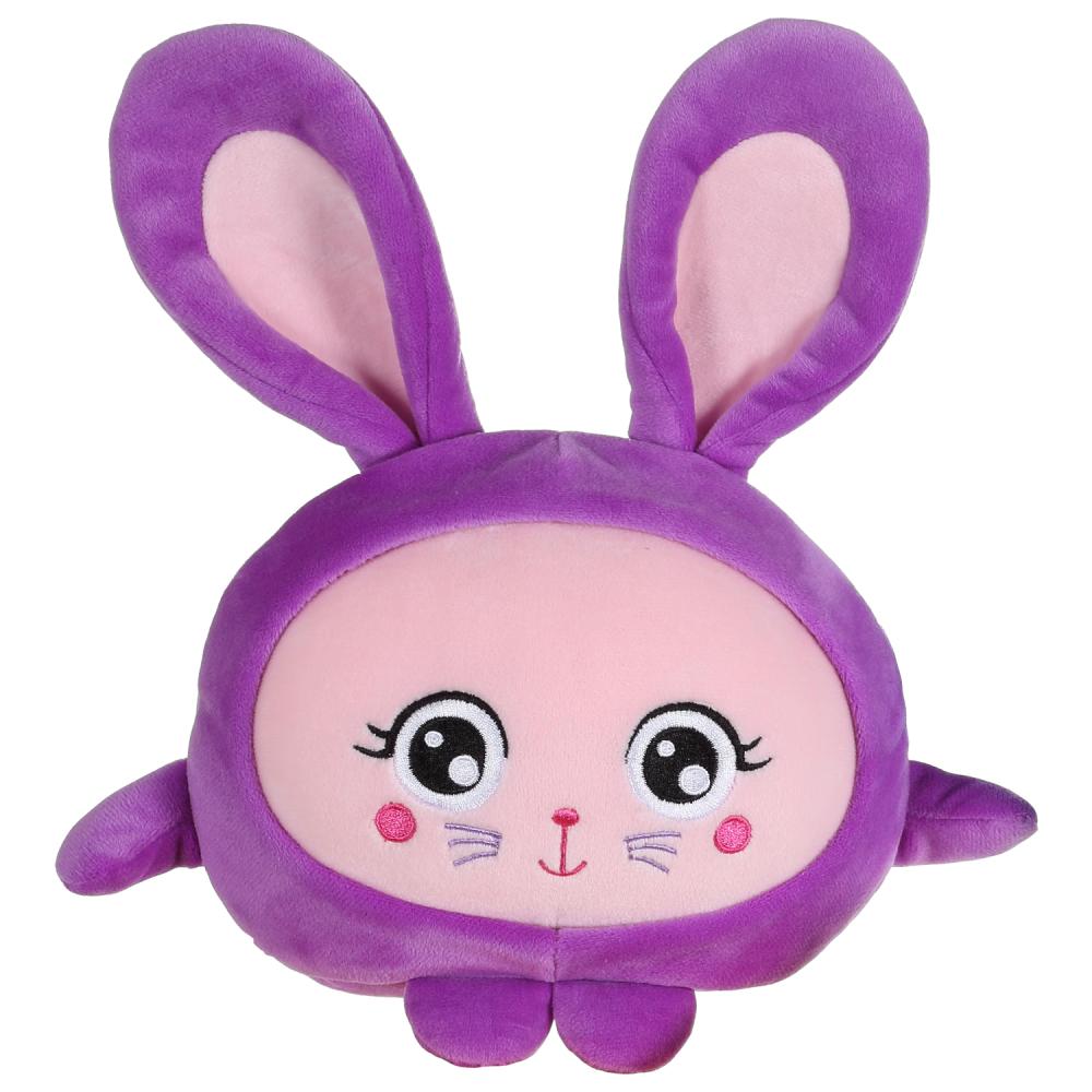 Игрушка 1TOY Squishimals Фиолетовый зайка  20 см.