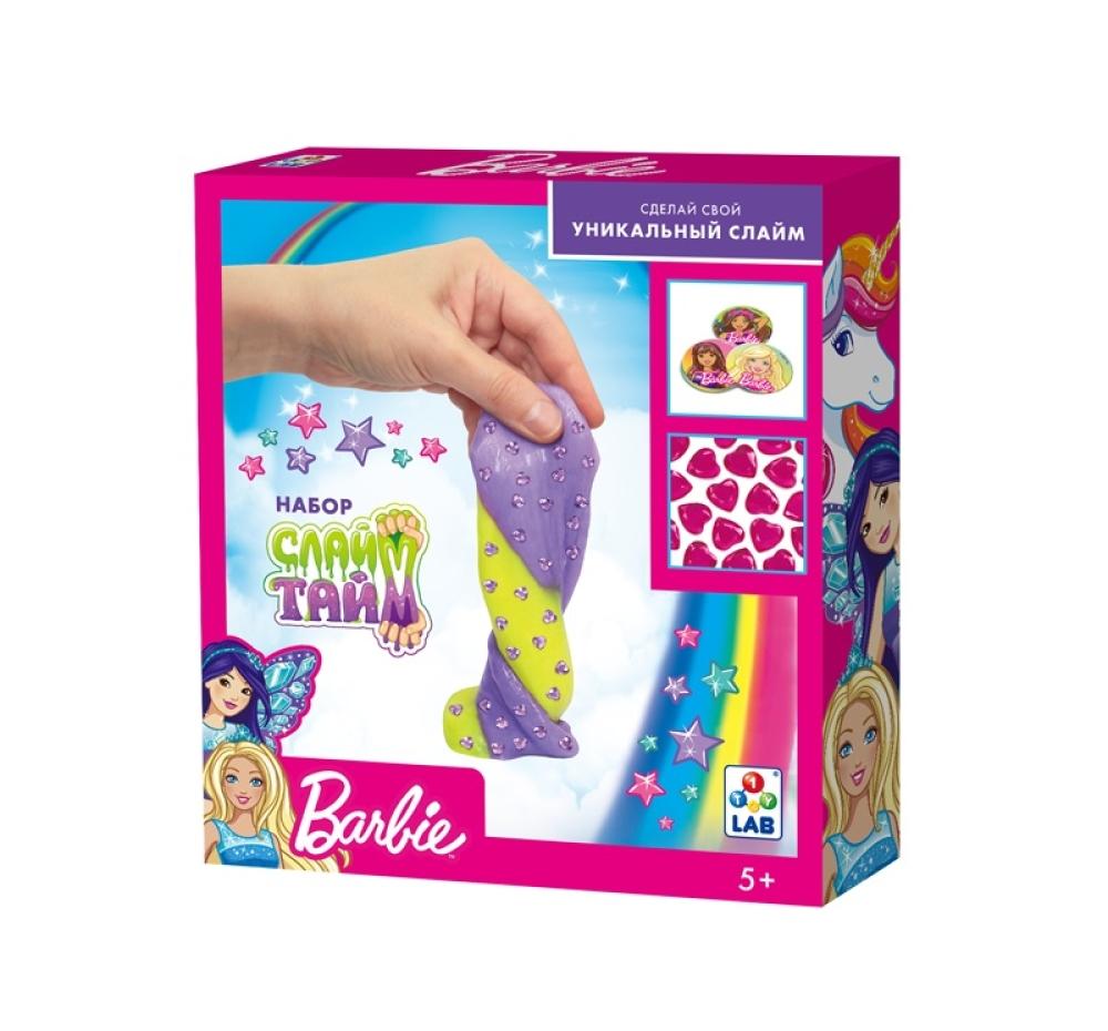 Слайм тайм Набор Барби в кор. 25,5x22,5x5 см