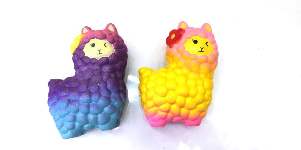 1toy игрушка-антистресс мммняшка squishy (сквиши), лама ,42 гр