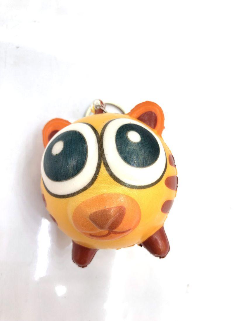1toy игрушка-антистресс мммняшка squishy (сквиши), шарики-звери, тигр