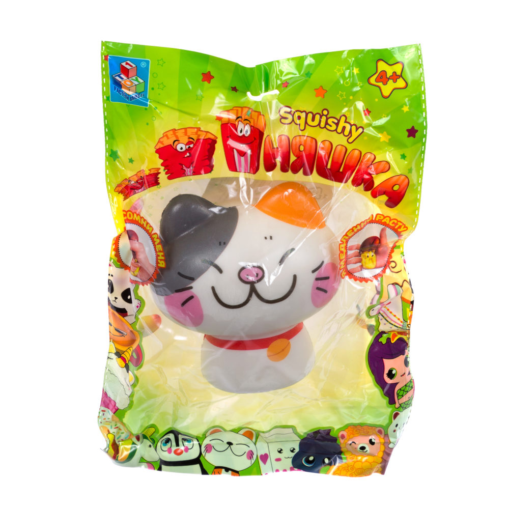 1toy игрушка-антистресс мммняшка squishy (сквиши), котята mix 46 гр