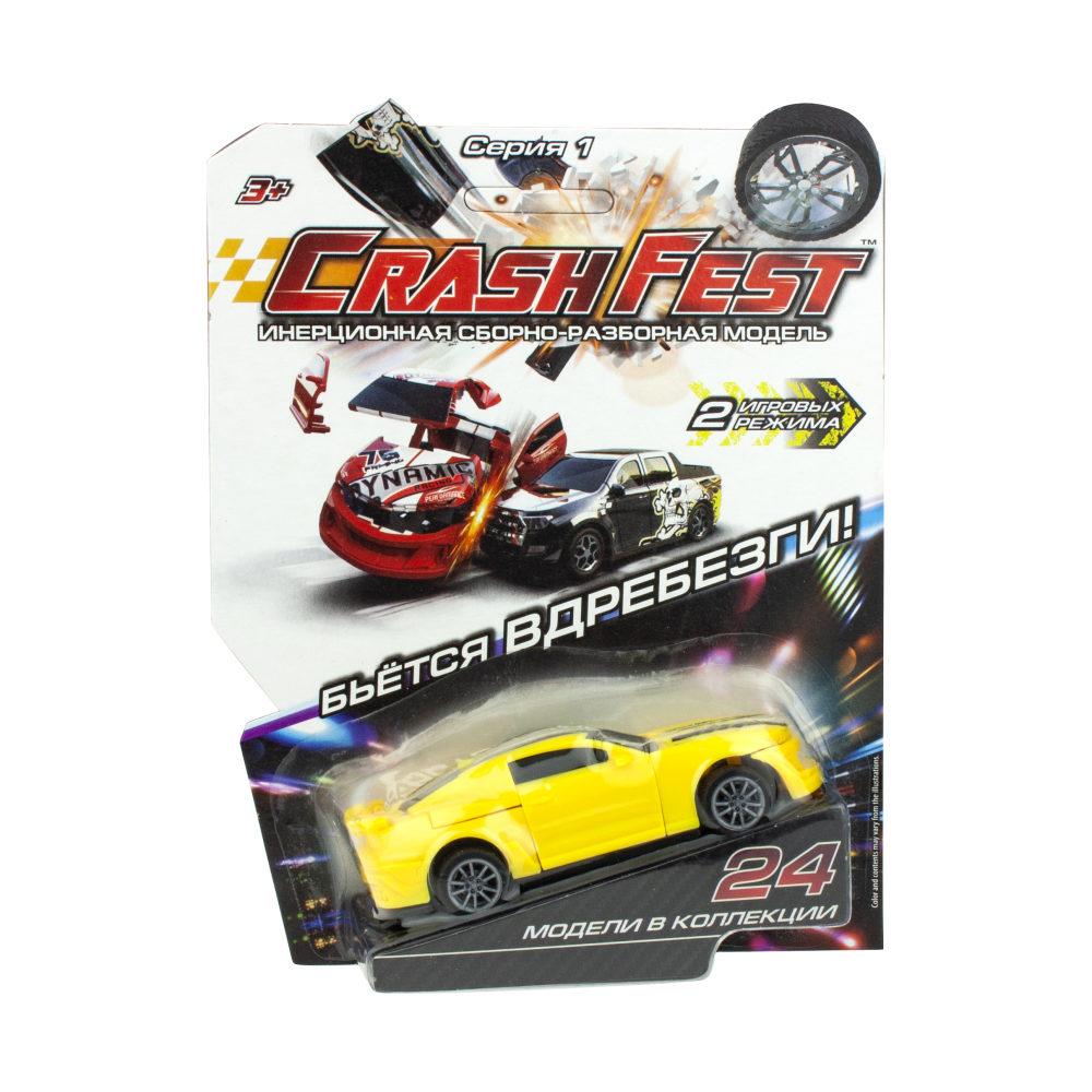 CrashFest Street Liner машинка инерционная