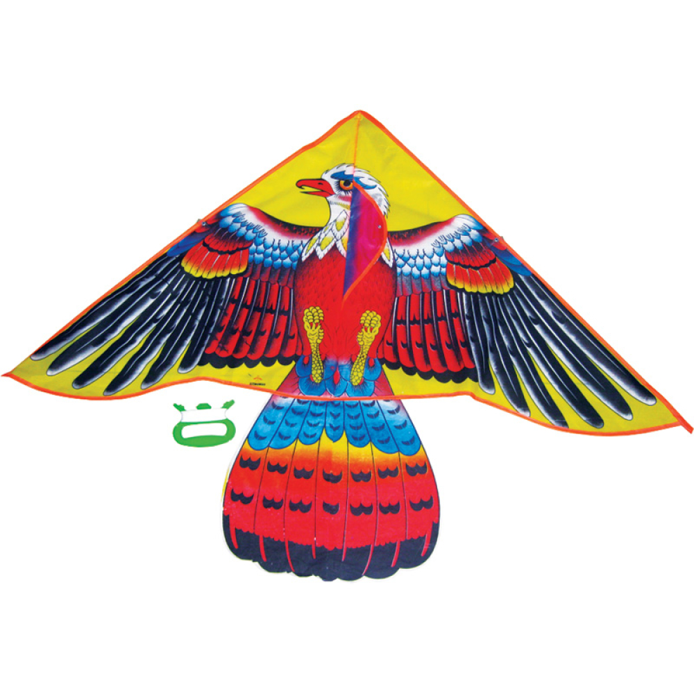 Тилибом Воздушный змей Орел бол. катушка (леер 50м) 130х66см