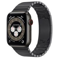 Часы Apple Watch Edition Series 6 GPS + Cellular 44mm Space Black Titanium Case with Space Black Link Bracelet