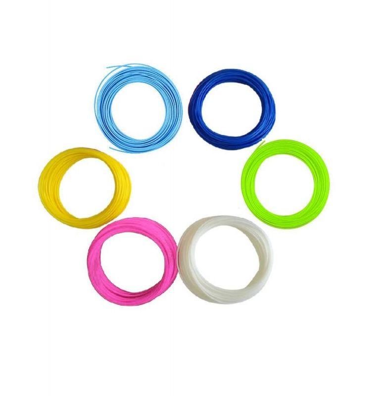 Набор пластика для 3D ручки 6 цветов