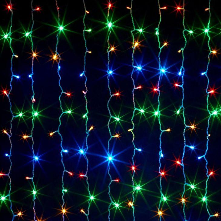 Светодиодная гирлянда Шторка 320 LED , 3*2 м