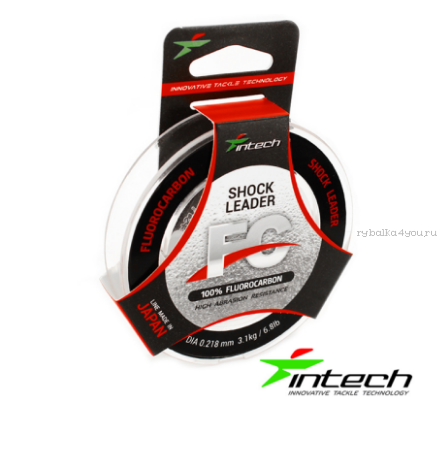 Леска флюорокарбон Intech FC Shock Leader 25 м