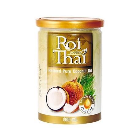 Кокосовое масло 100% рафинированное Rhoi Thai 600 мл, ПЭТ