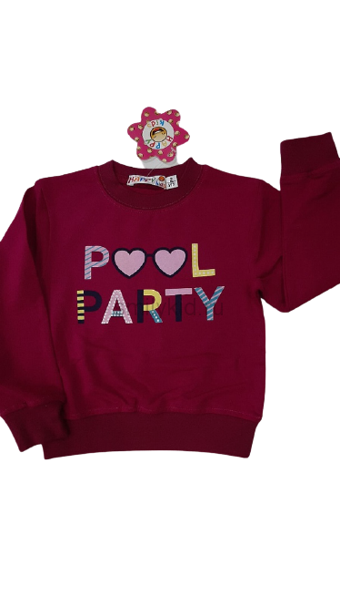 "Кофты для девочки ""Pool Party"" оптом | 5 шт"