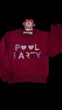 "Кофты для девочки ""Pool Party"" оптом   5 шт"