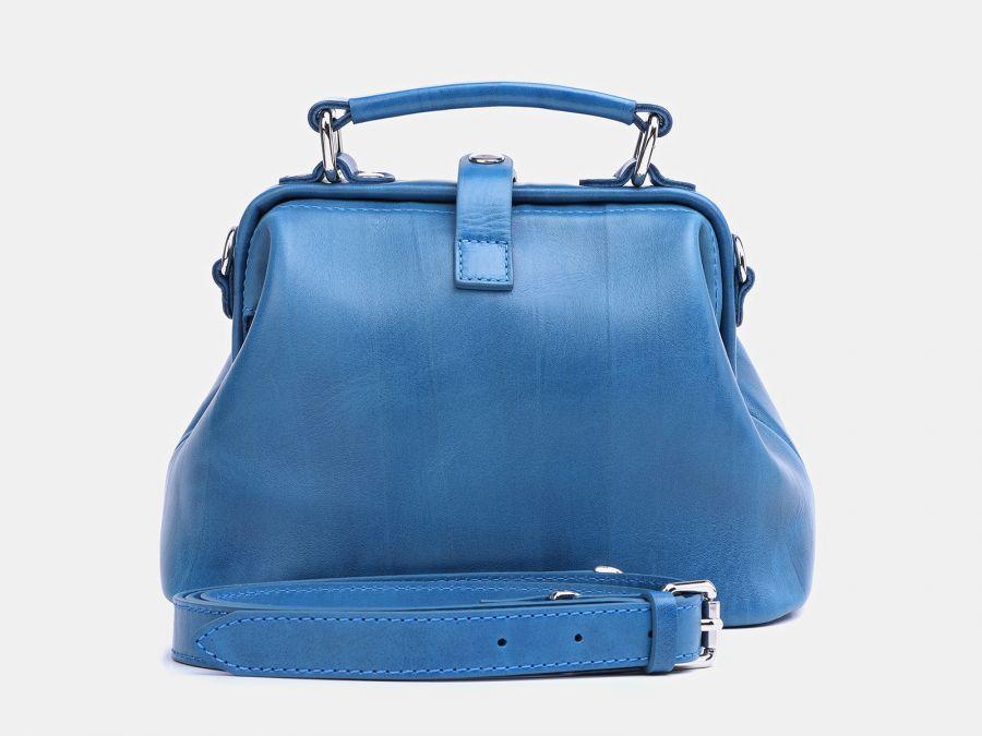 """Женская сумка-саквояж из натуральной кожи Alexander-TS """"W0013 Aqua 2"""""""