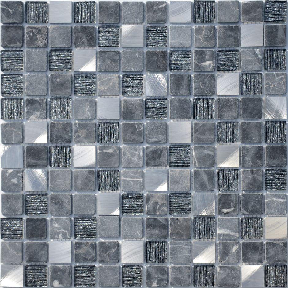 Мозаика LeeDo: Black Velvet 23x23x4 мм
