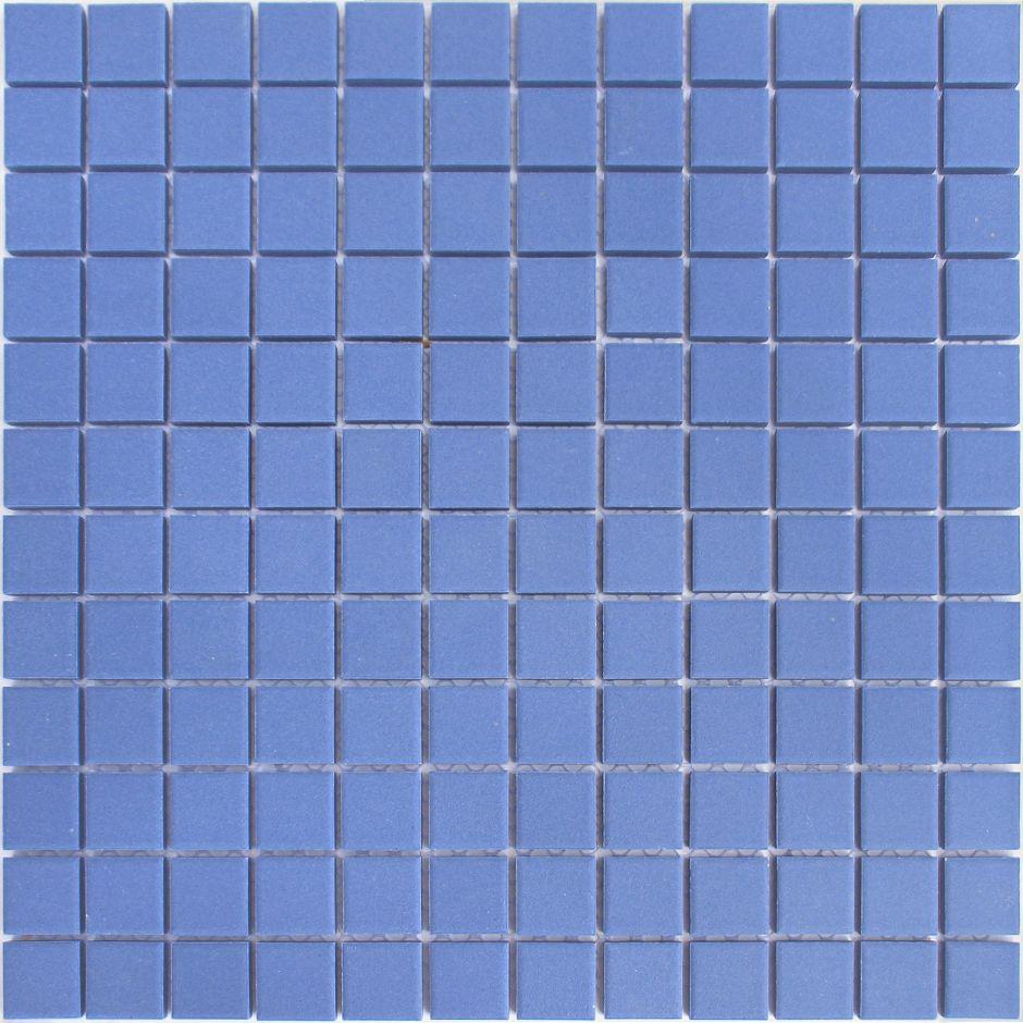 Мозаика LeeDo: Abisso blu 23x23x6 мм из керамогранита неглазурованная с прокрасом в массе