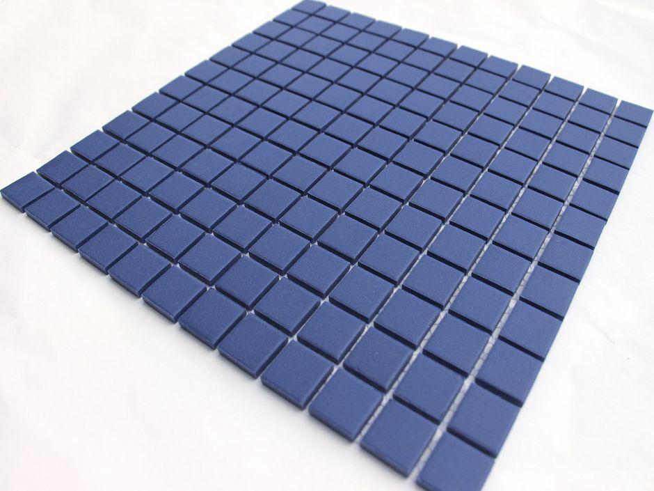 Мозаика LeeDo: Abisso scuro чип 23x23x6 мм из керамогранита неглазурованная с прокрасом в массе