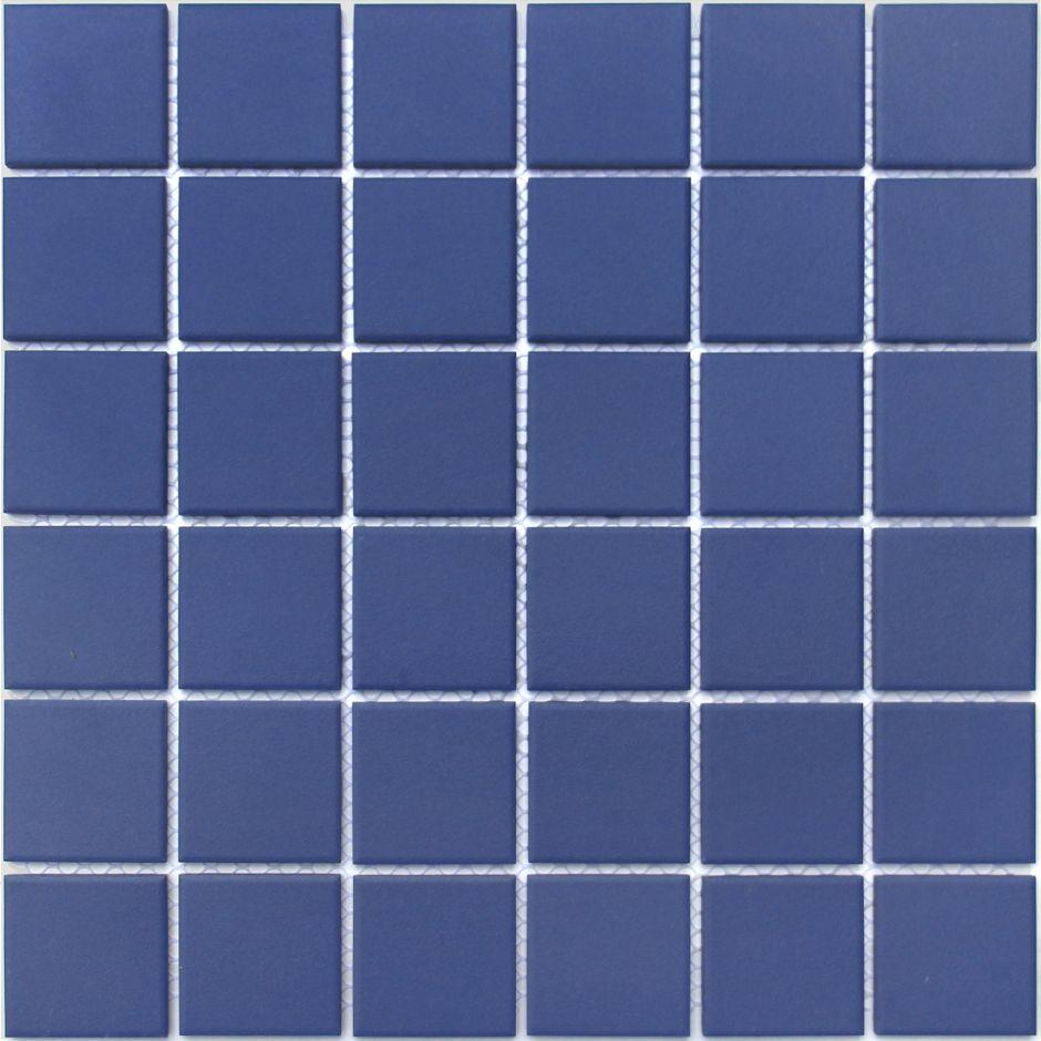 Мозаика LeeDo: Abisso scuro 48x48x6 мм из керамогранита неглазурованная с прокрасом в массе