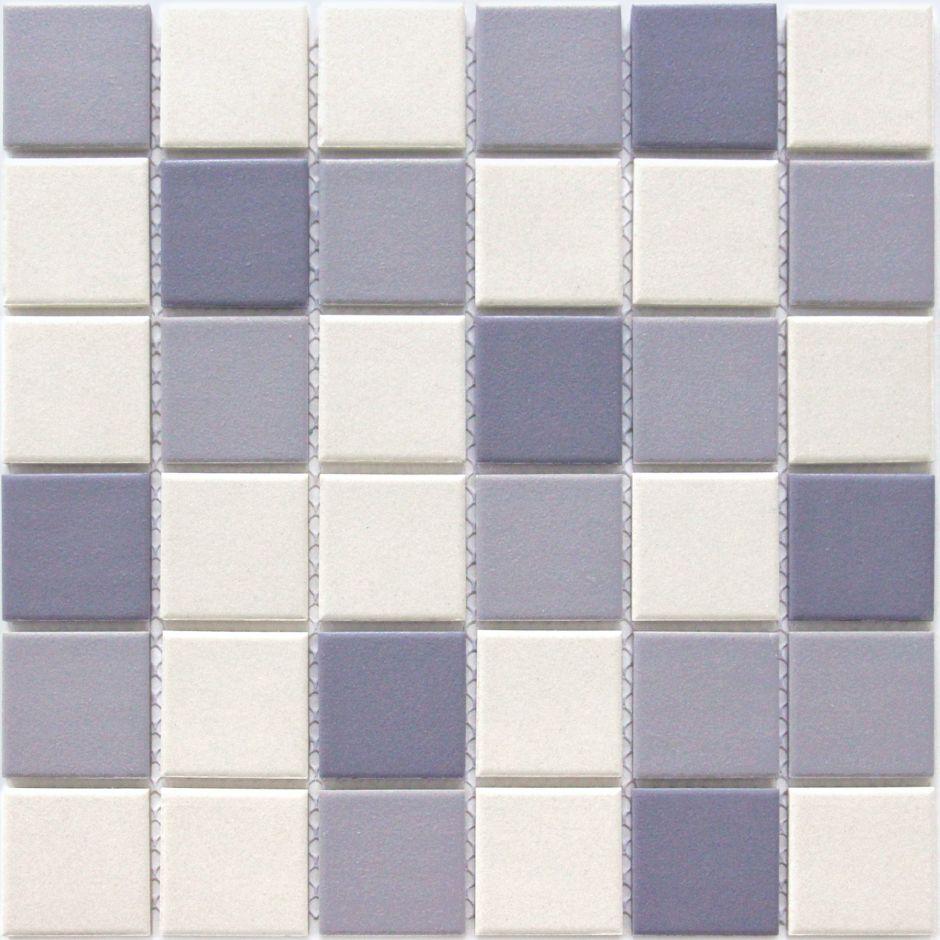 Мозаика LeeDo: Aquario 48x48x6 мм из керамогранита неглазурованная с прокрасом в массе