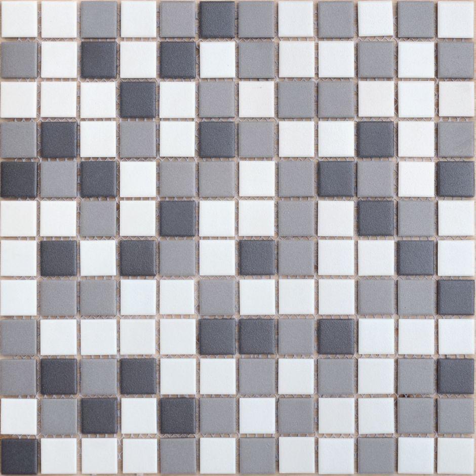 Мозаика LeeDo: Equinozio 23x23x6 мм из керамогранита неглазурованная с прокрасом в массе