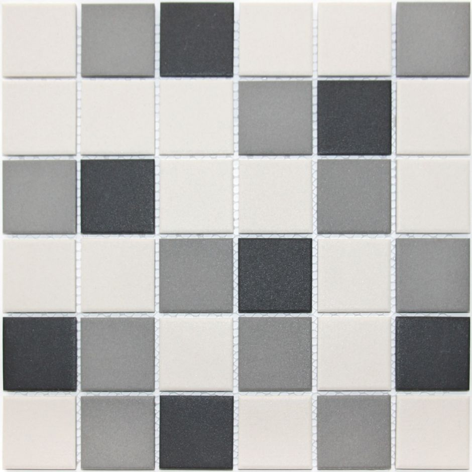 Мозаика LeeDo: Equinozio 48x48x6 мм из керамогранита неглазурованная с прокрасом в массе