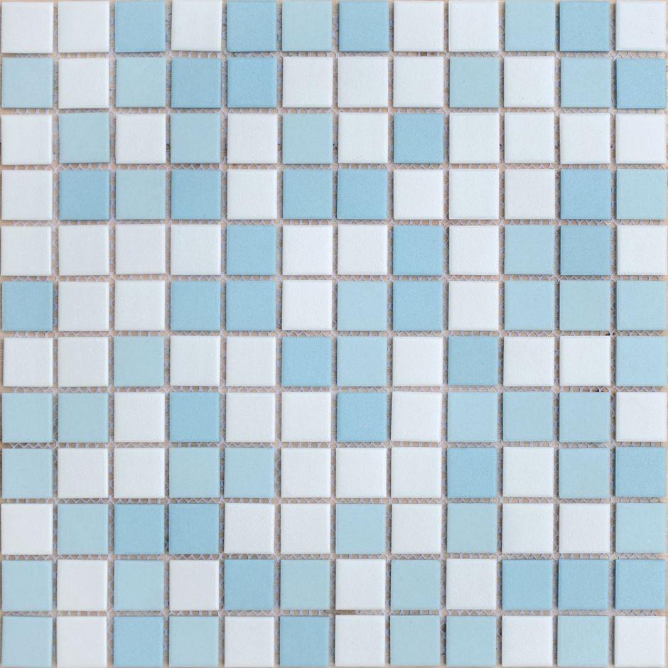 Мозаика LeeDo: Uranio 23x23x6 мм из керамогранита неглазурованная с прокрасом в массе