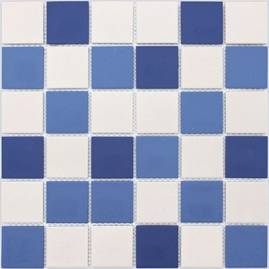 Мозаика LeeDo: Nettuno 48x48x6 мм из керамогранита неглазурованная с прокрасом в массе