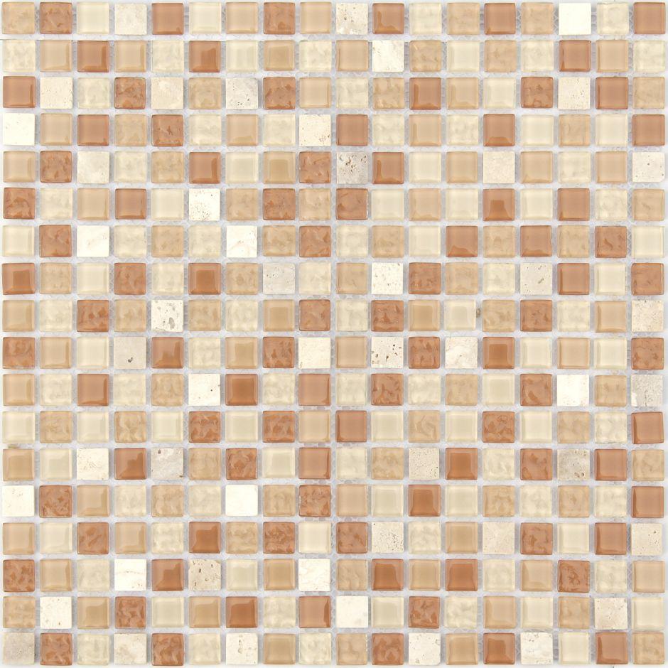 Мозаика LeeDo - Caramelle: Naturelle - Olbia 15x15x4 мм