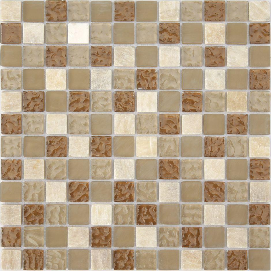 Мозаика LeeDo - Caramelle: Naturelle - Amber 23х23х8 мм