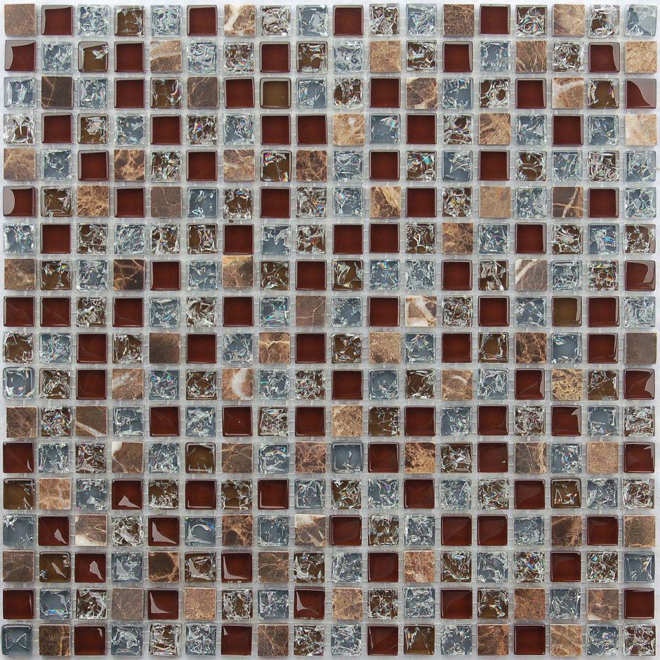 Мозаика LeeDo - Caramelle: Naturelle - Fiji 15x15x8 мм