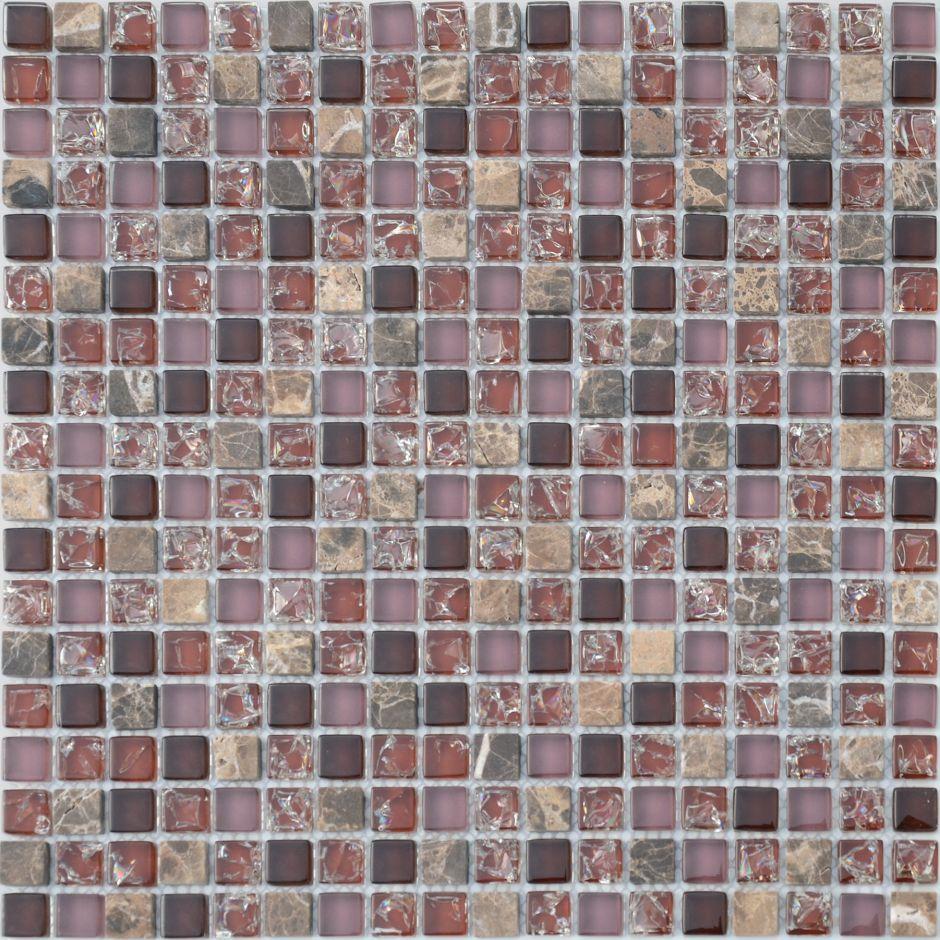 Мозаика LeeDo - Caramelle: Naturelle - Siracusa 15x15x8 мм