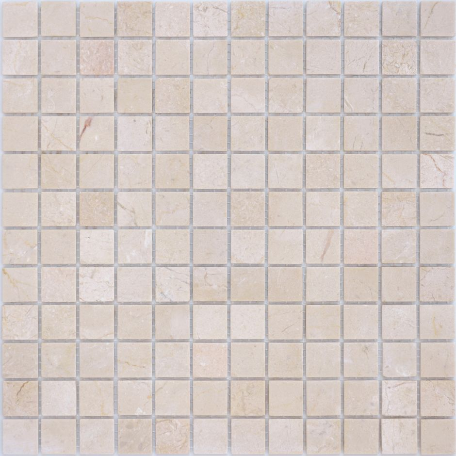 Мозаика LeeDo: Pietrine - Crema Marfil матовая 23x48x4 мм