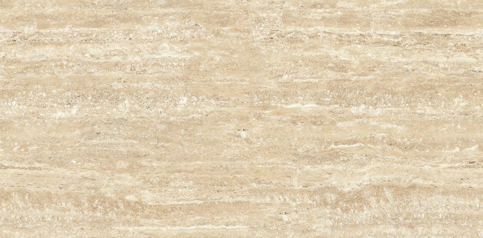 Керамогранит LeeDo: Marble Thin 5.5 - Travertino Classico POL 120x60 см, полированный