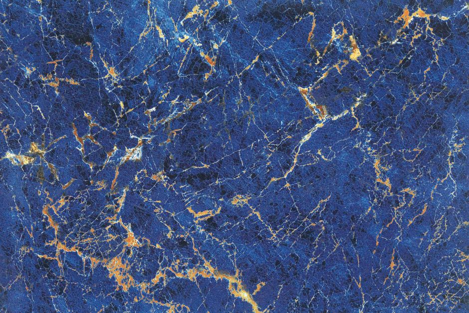 Керамогранит LeeDo: Marble GANI - Diamond Blue 60x90 см, полированный, с подкрашенной основой