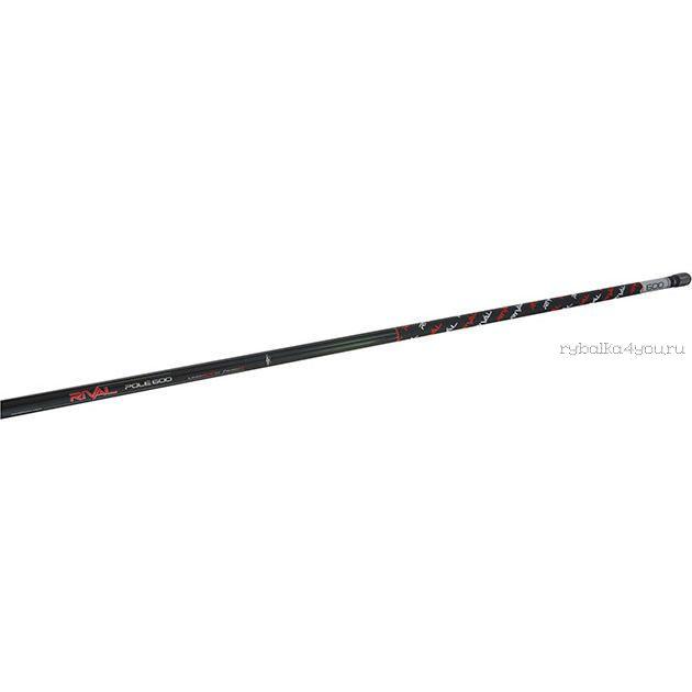 Удилище маховое без колец Mikado Rival Pole 600 6 м