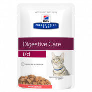 Hill's PD Feline i/d Gastrointestinal Health with Salmon Диетические паучи при заболеваниях ЖКТ (лосось) (85 г)