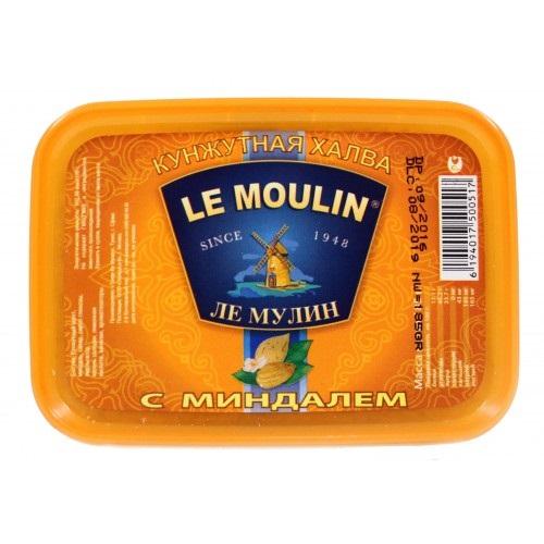 Халва кунжутная с миндалем Le Moulin Ле Мулин - 185 гр